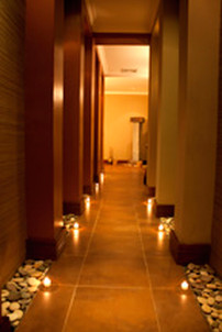 Hallway into the dressing rooms